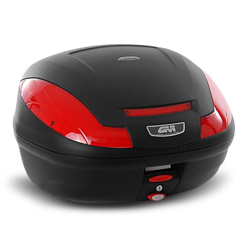 Top-Case-Givi-Honda-Deauville-NT-700-V-E470N-Monolock-nero