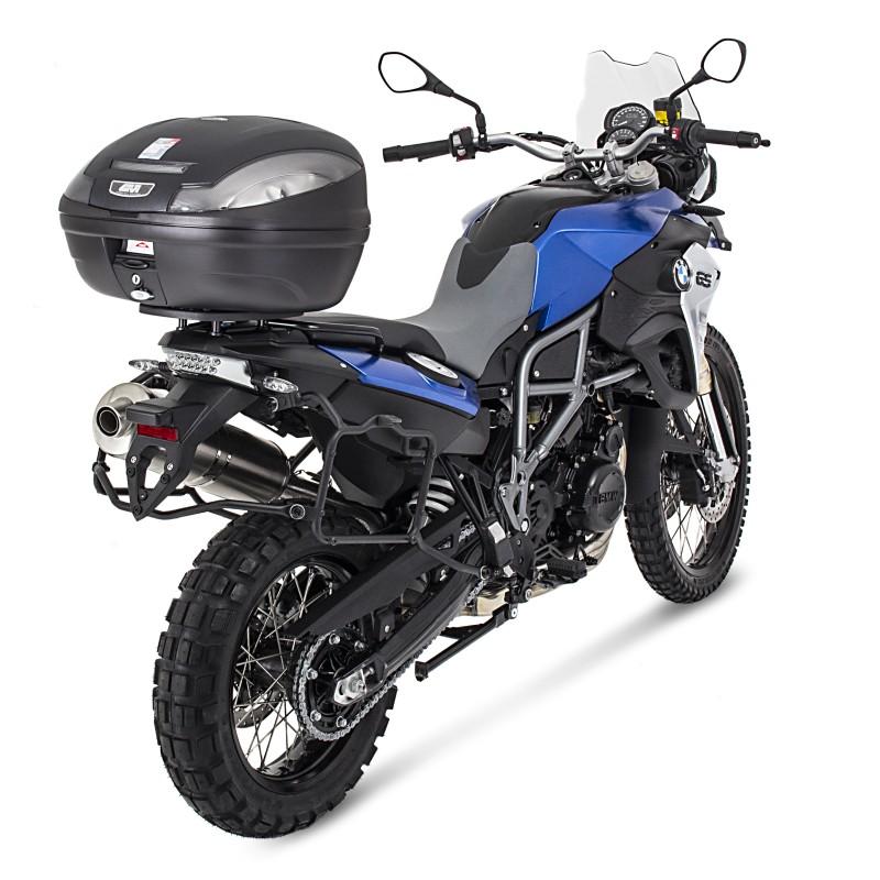 Bauletto-Top-Case-Set-Givi-Yamaha-FZ1-06-15-Monolock-E470NT-nero