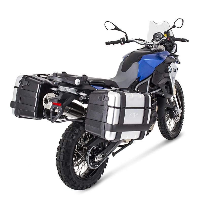 set de valises lat rales moto yamaha tdm 900 02 13 givi trekker trk46n ebay. Black Bedroom Furniture Sets. Home Design Ideas