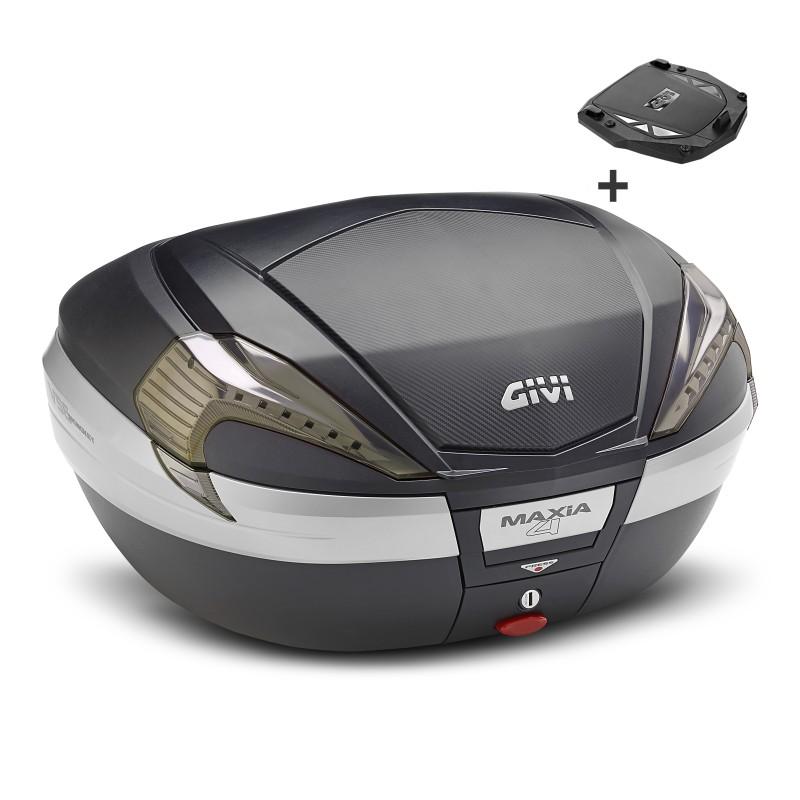 top box givi yamaha xjr 1300 racer v56nnt monokey black carbon ebay. Black Bedroom Furniture Sets. Home Design Ideas
