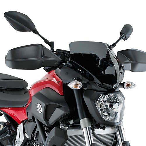 motorcycle windshield yamaha mt 07 14 16 givi tinted. Black Bedroom Furniture Sets. Home Design Ideas