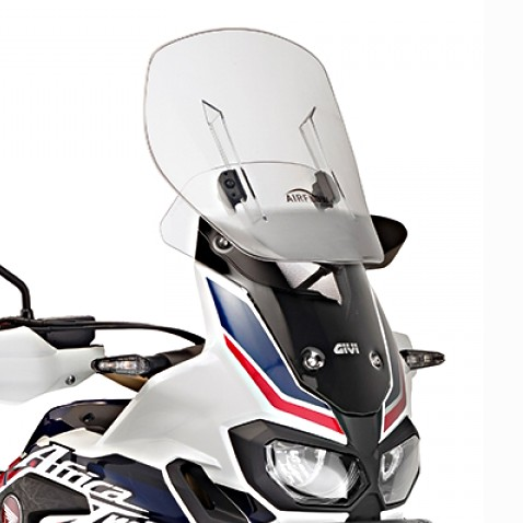 windshield touring givi airflow honda africa twin crf 1000. Black Bedroom Furniture Sets. Home Design Ideas