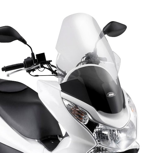 windscreen givi honda pcx 125 10 12 windscreen touring. Black Bedroom Furniture Sets. Home Design Ideas