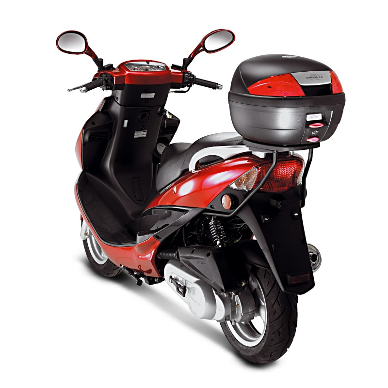 top case vespa gts 300 kappa k26n monolock 26 liters black ebay. Black Bedroom Furniture Sets. Home Design Ideas