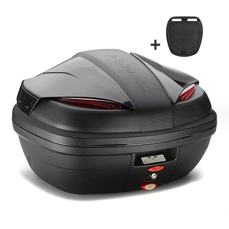 top case kappa k47nn monolock 47 litres noir. Black Bedroom Furniture Sets. Home Design Ideas
