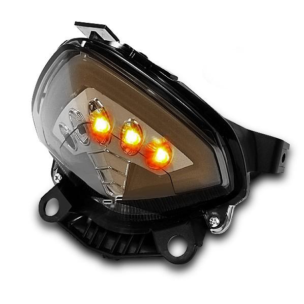 LED-Rücklicht + Blinker Honda CB 500 F/ X 13-14 rauchgrau