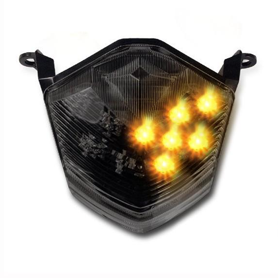 Led Tail Light Indicators Kawasaki Zx 10r 08 10 Light Smoke