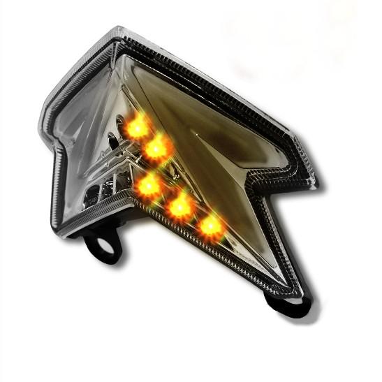 LED-Rücklicht + Blinker Kawasaki Z 800/ e 13-14 rauchgrau