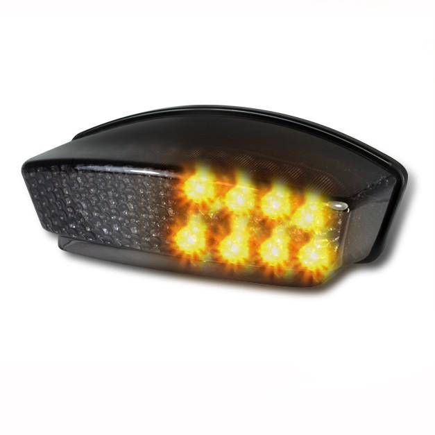 LED-Rücklicht + Blinker Ducati Monster 1000 03-05 rauchgrau