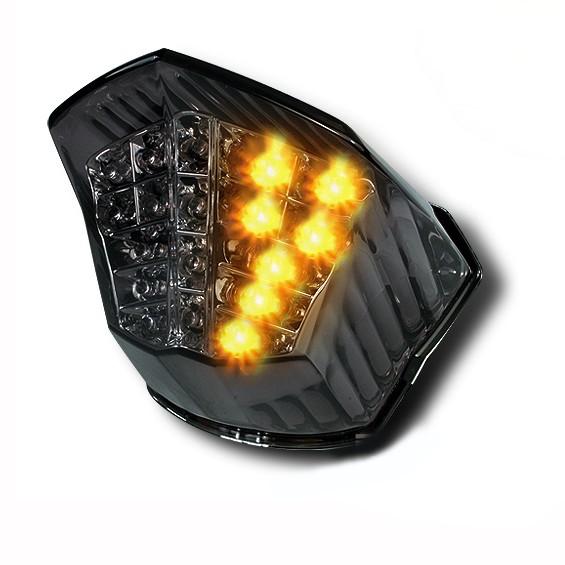 LED-Rücklicht + Blinker Yamaha XJ6/ Diversion/ Diversion F 09-14 rauchgrau