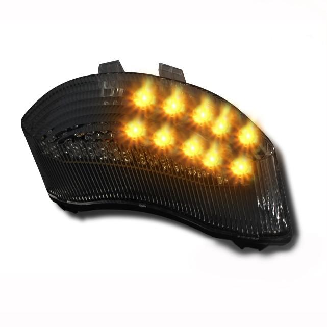 LED-Rücklicht + Blinker Triumph Daytona 675 06-12 rauchgrau