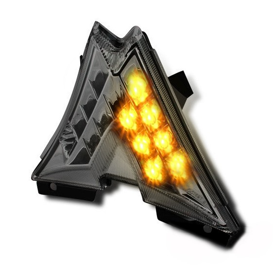 LED-Rücklicht + Blinker Aprilia RSV4 09-14 rauchgrau