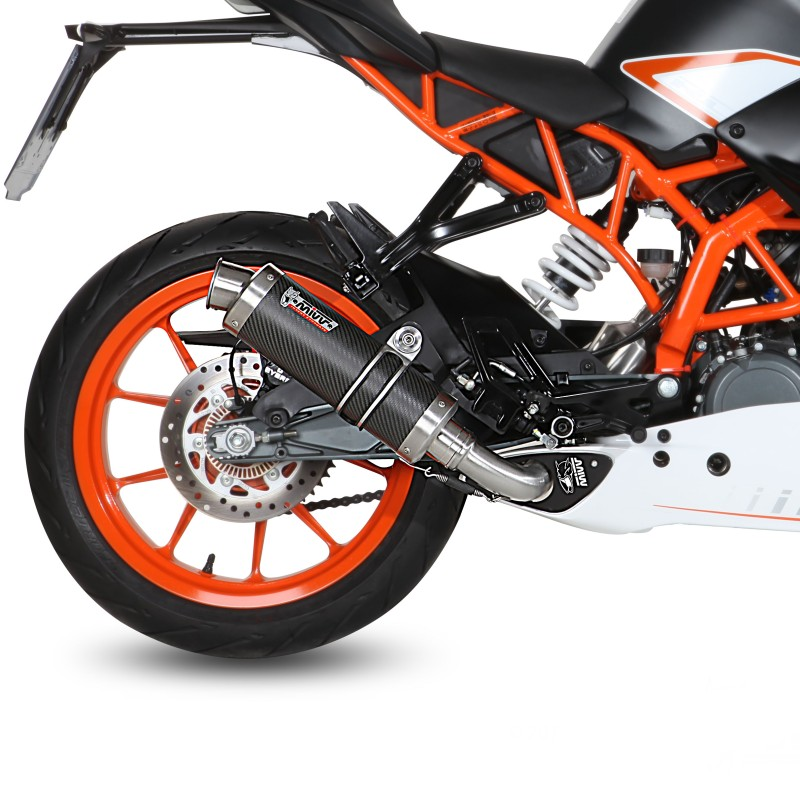 auspuff mivv gp ktm rc 390 14 16 carbon. Black Bedroom Furniture Sets. Home Design Ideas