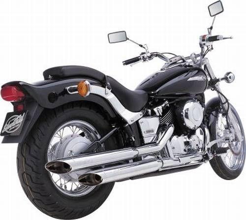 auspuff silvertail k02 yamaha xvs 650 a drag star classic. Black Bedroom Furniture Sets. Home Design Ideas