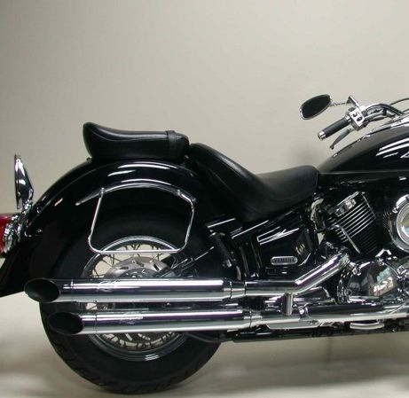 exhaust silvertail k02 yamaha xvs 1100 drag star 99 02. Black Bedroom Furniture Sets. Home Design Ideas