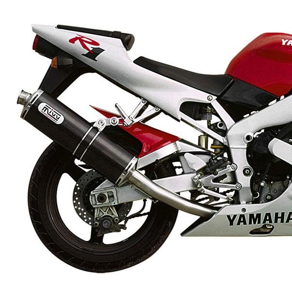 Exhaust mivv oval yamaha yzf r1 98 01 carbon for 01 yamaha r1