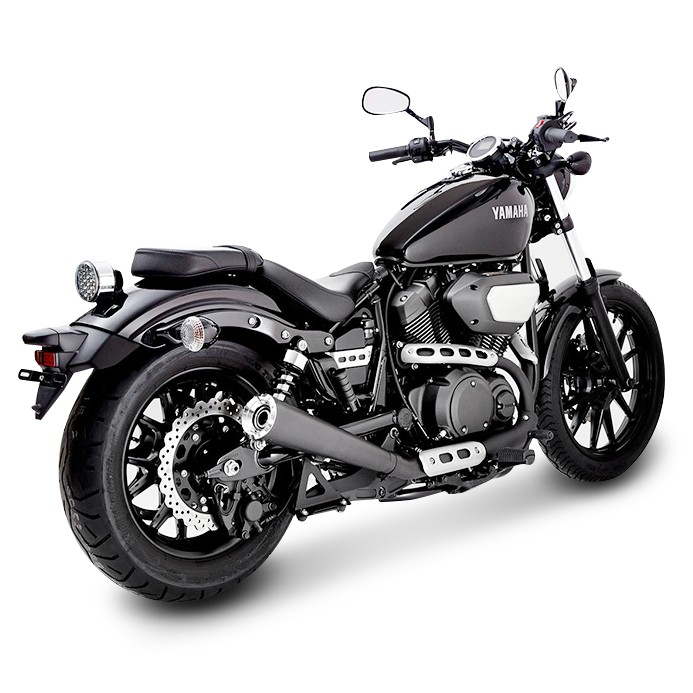 auspuff schalld mpfer miller avenger x yamaha xv 950 r 2014 ebay. Black Bedroom Furniture Sets. Home Design Ideas