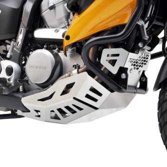 Engine Guard Honda Transalp Xl 700 V 07 14 Silver Motor Protection Ebay