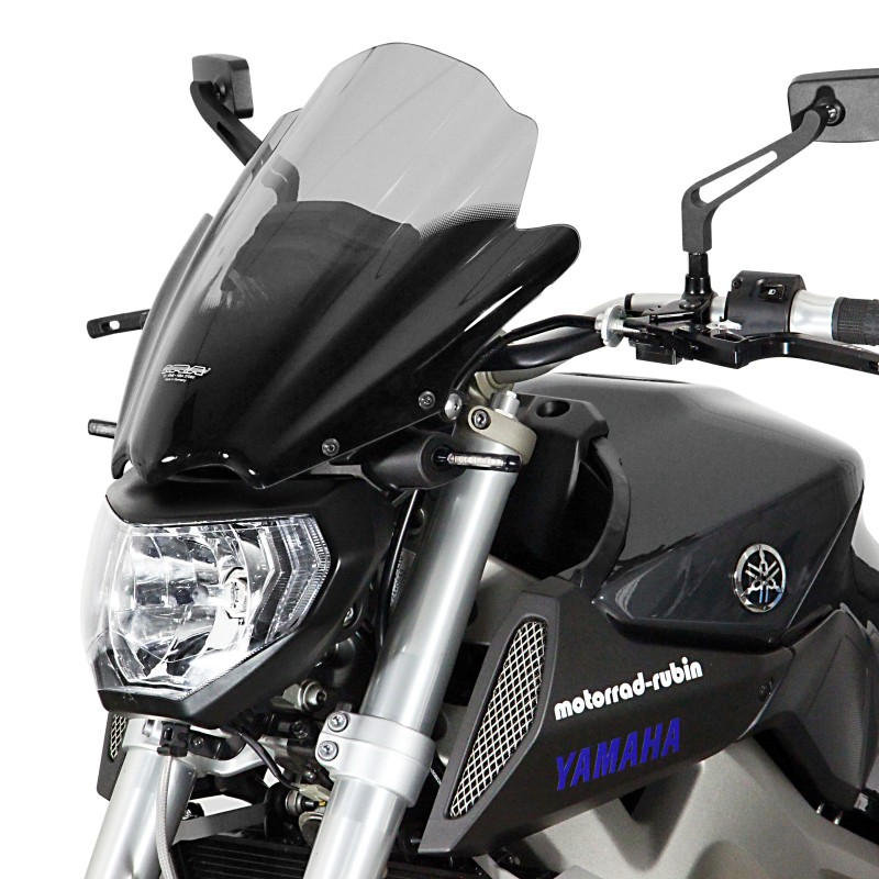 racingscheibe mra yamaha mt 09 13 15 rauchgrau windschild. Black Bedroom Furniture Sets. Home Design Ideas