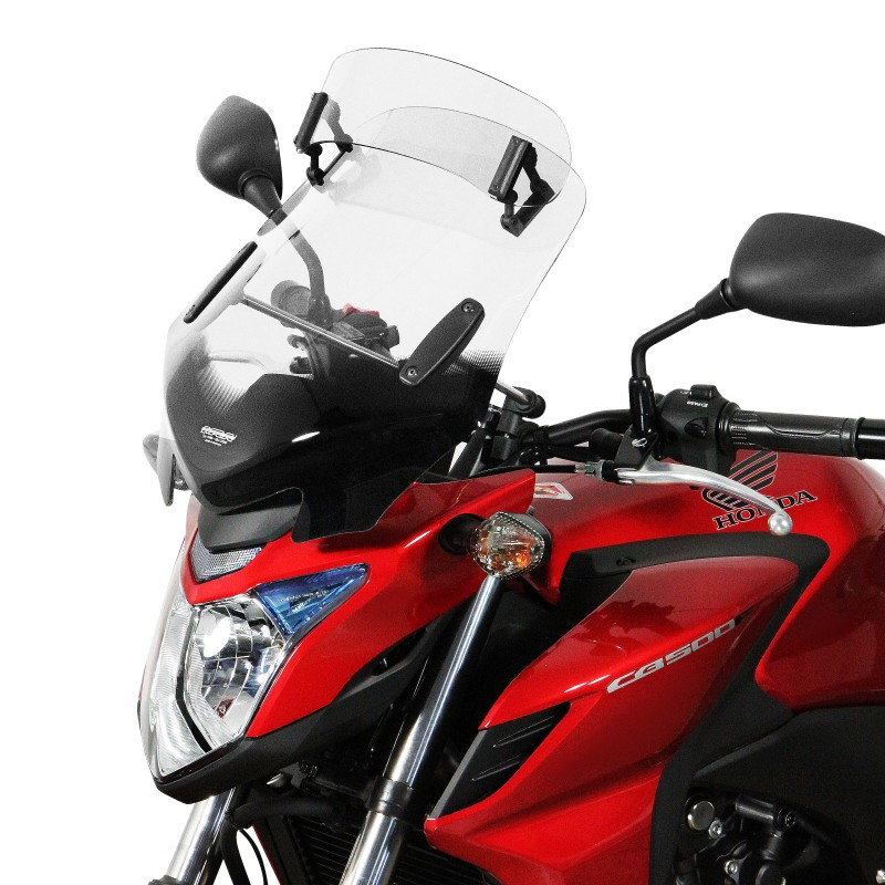 MRA Windshield V-Flow Vario-Touring-Screen Z incl. fixations clear