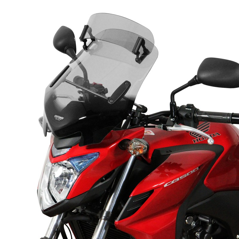 MRA Windshield V-Flow Vario-Touring-Screen Z incl. fixations light ...