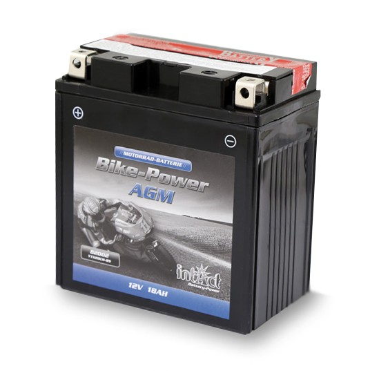 Motorcycle Battery AGM Intact Bike Power CTX 20 CH BS