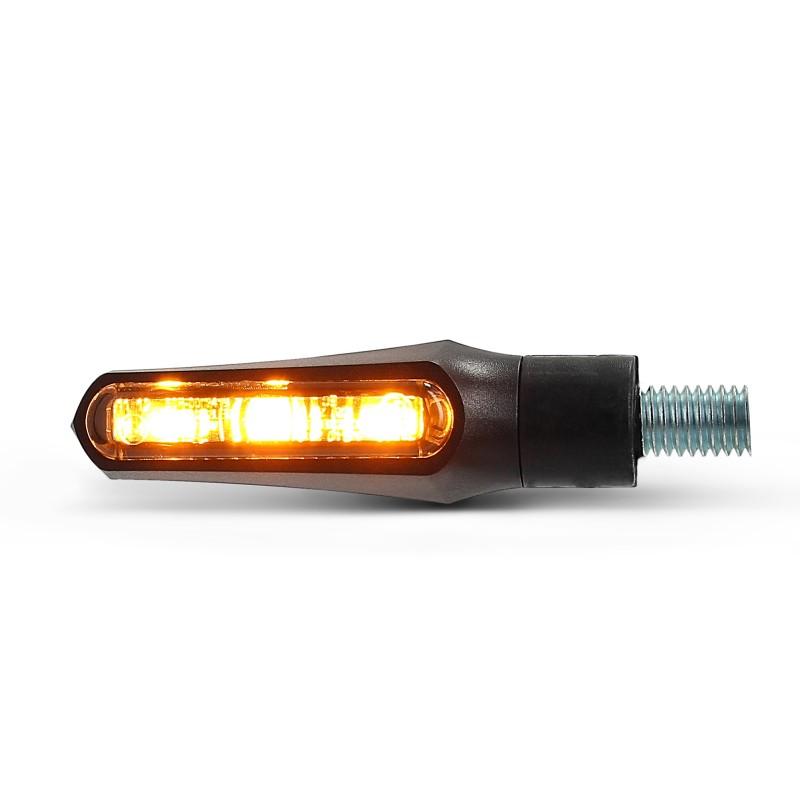 mini led blinker bmw r 1100 gs shorty fin paar schwarz. Black Bedroom Furniture Sets. Home Design Ideas