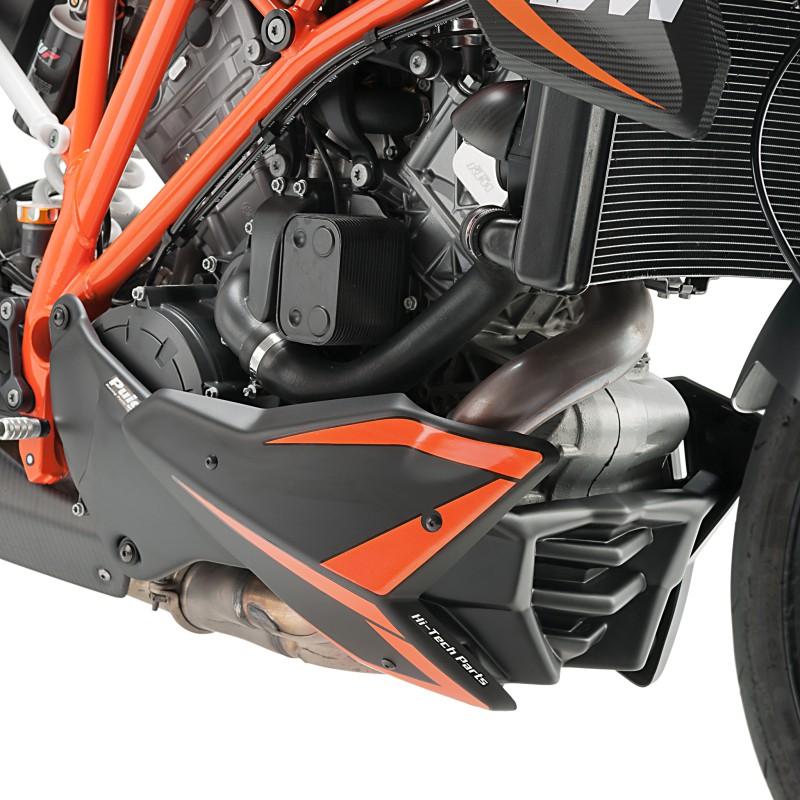 Bugspoiler Puig KTM 1290 Super Duke/R 14-17 schwarz matt