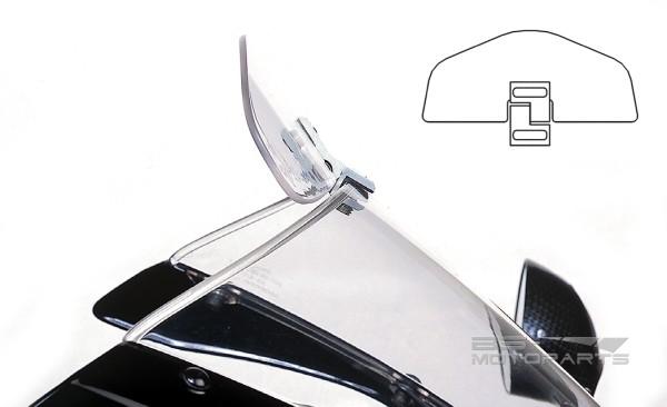 Дефлектор на мотостекло своими руками 56