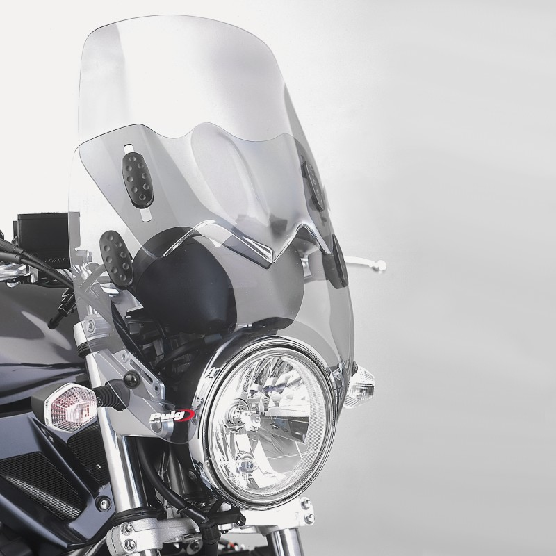 Cupolino Puig Wave nero per Suzuki Bandit 600/ 1200, GN