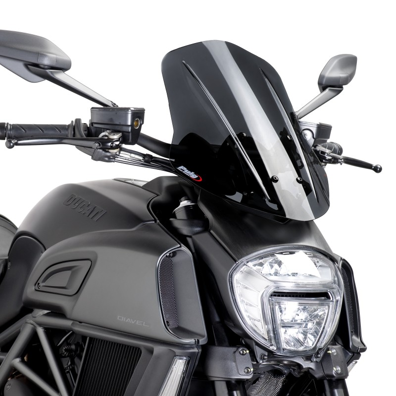 Ducati Diavel Touring Windshield Kit