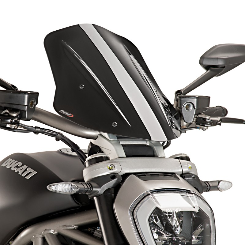 Ducati  Black Windshield