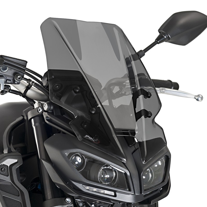 windscreen touring yamaha mt 09 2017 puig naked new. Black Bedroom Furniture Sets. Home Design Ideas