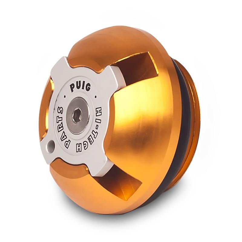 CNC Ölstopfen Puig Suzuki DR 800 S BIG 91-99 gold
