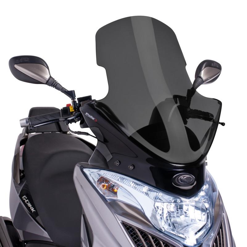 windscreen puig kymco grand dink 50 125 300 13 14 dark smoke windshield screen ebay. Black Bedroom Furniture Sets. Home Design Ideas
