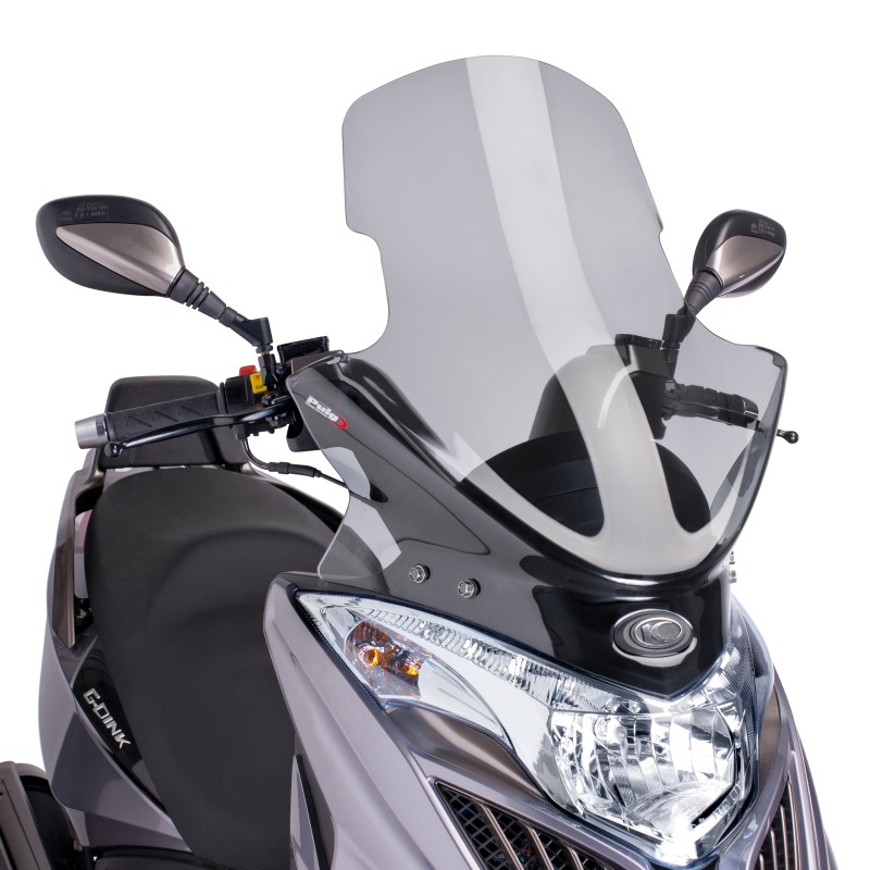 windscreen puig kymco grand dink 50 125 300 13 14 light smoke windshield screen ebay. Black Bedroom Furniture Sets. Home Design Ideas