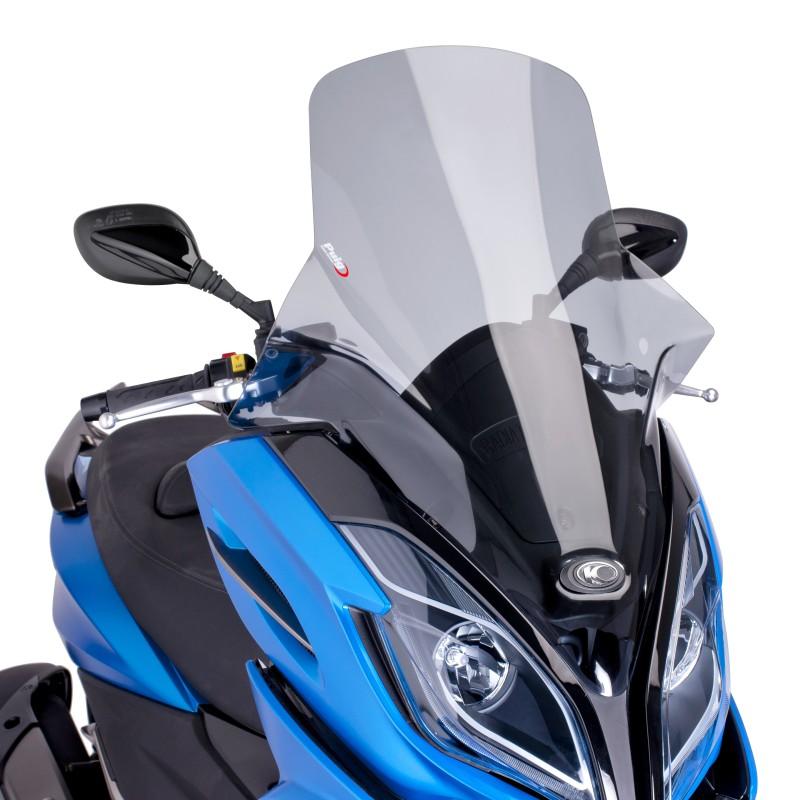 scooter puig v-tech kymco k-xct 125 i 13-16 fumè chiaro
