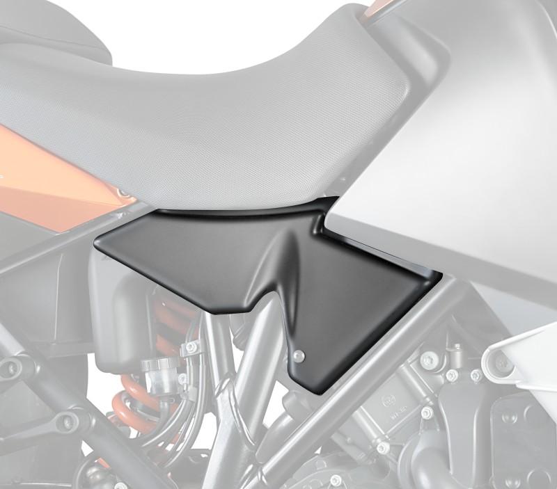 Seitenverkleidung Puig KTM 1190 Adventure\ R 13-16 schwarz matt
