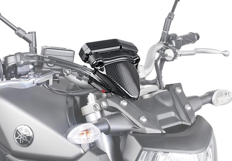 Tachometer Abdeckung Puig Yamaha MT-09 13-16 carbon look