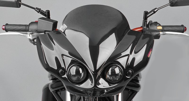 streetfighter headlight ii honda cbf 500 600 x4 x11 ebay. Black Bedroom Furniture Sets. Home Design Ideas