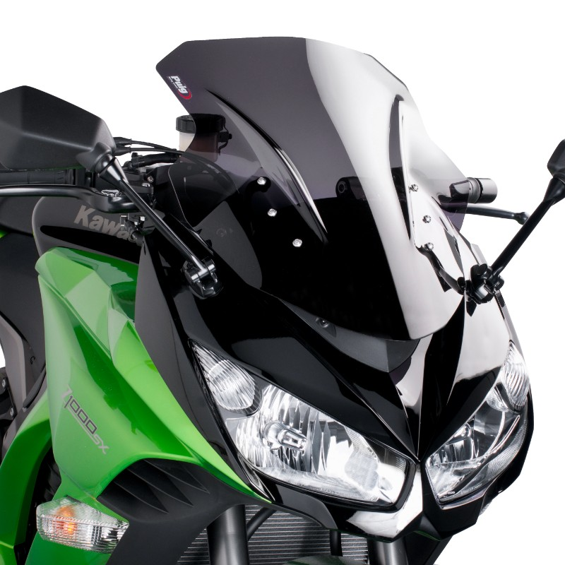 Racingscheibe Puig Kawasaki Z 1000 SX 11-16 dunkel getönt