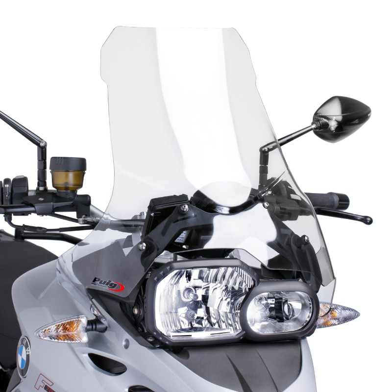 windshield touring puig bmw f 700 gs 13 17 clear. Black Bedroom Furniture Sets. Home Design Ideas