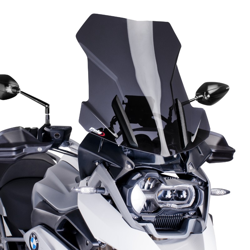 windshield touring puig bmw r 1200 gs 13 18 dark smoke. Black Bedroom Furniture Sets. Home Design Ideas