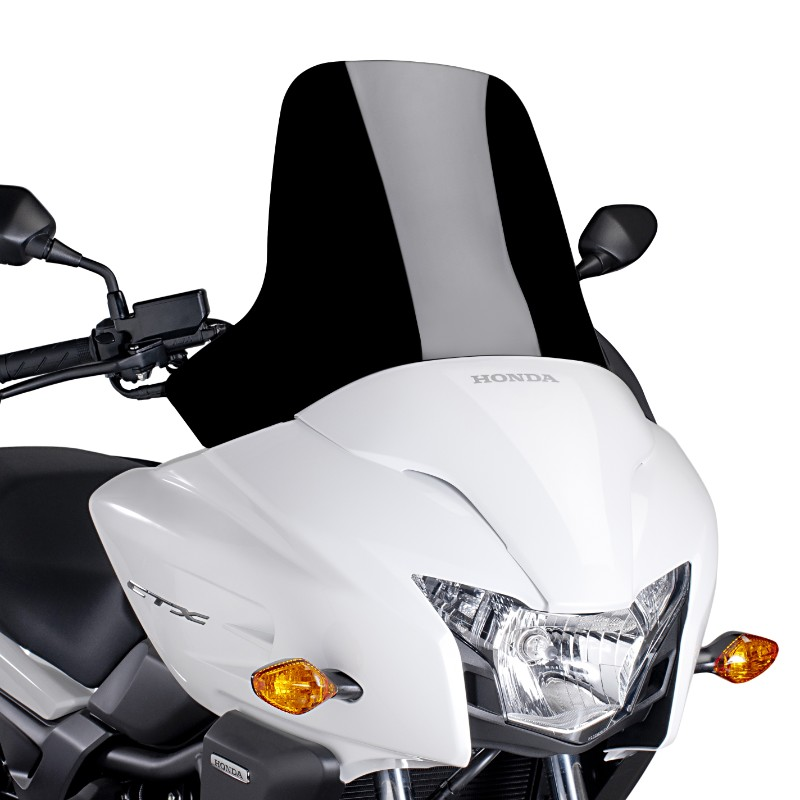 windshield spoiler puig honda ctx 700 2014 black screen ebay. Black Bedroom Furniture Sets. Home Design Ideas