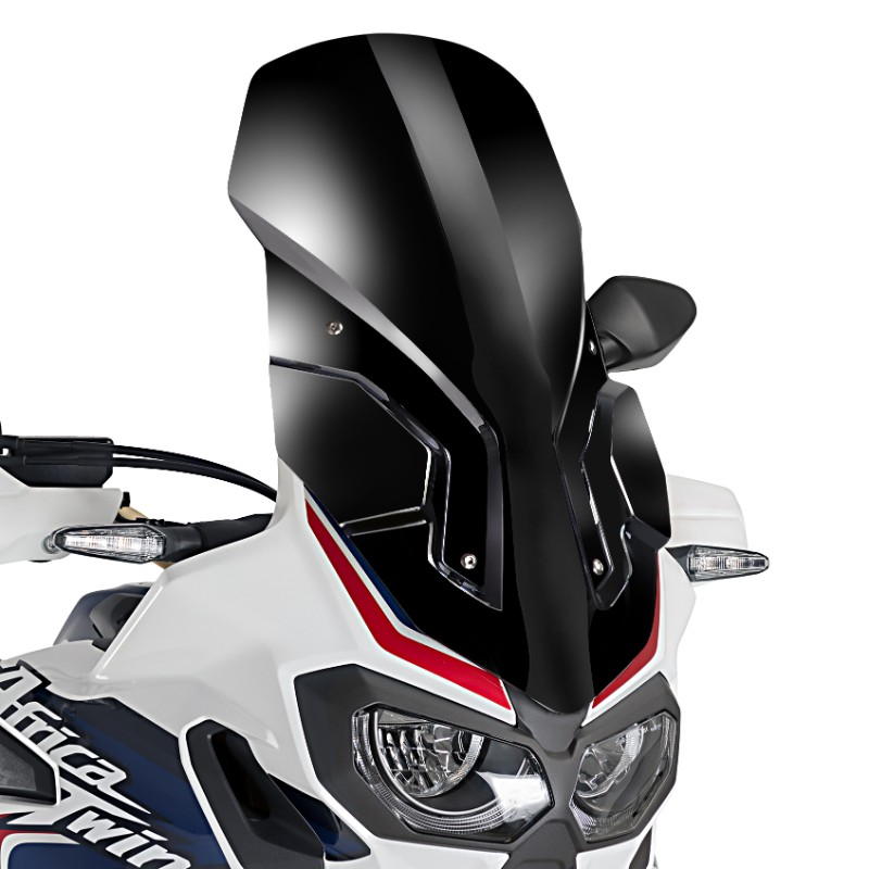 windscreen touring puig honda africa twin crf 1000 l 2016. Black Bedroom Furniture Sets. Home Design Ideas