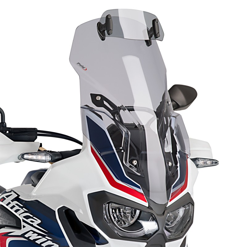 windshield touring puig vario honda africa twin crf 1000 l. Black Bedroom Furniture Sets. Home Design Ideas