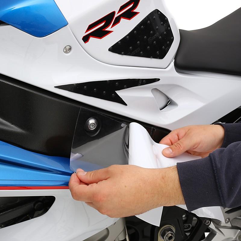 Motorrad Schutzfolie transparent Racetecs 75x100cm