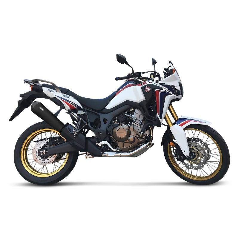 Tubo-de-Escape-Shark-DSX-7-Honda-CBF-600-S-08-13-Inox-negro