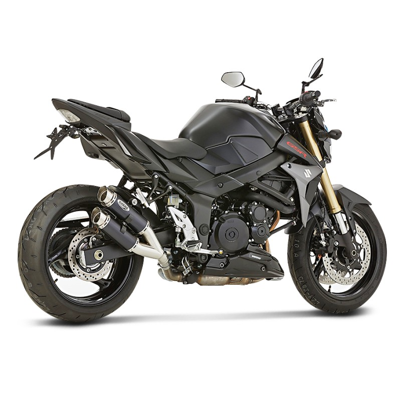 muffler shark track 1000 suzuki gsr 750 11 16 ebay. Black Bedroom Furniture Sets. Home Design Ideas