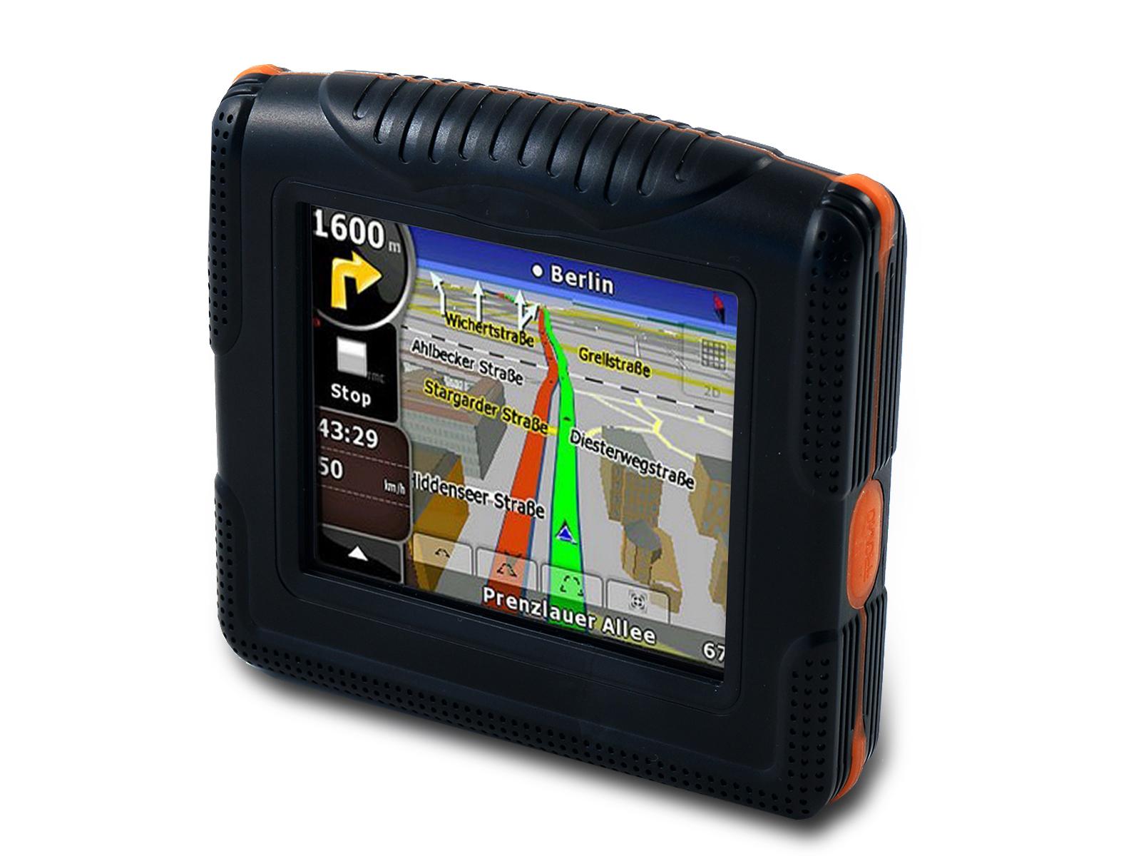 Motorcycle Navigation Systems : Vianav motorcycle sat nav gps navigation system for